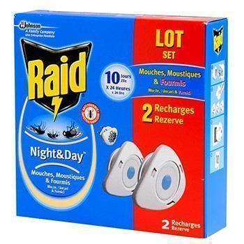 Raid Night & Day Ανταλλακτικά ΟΙΚΟΝΟΜΙΚΗ ΣΥΣΚΕΥΑΣΙΑ, 2 τμχ