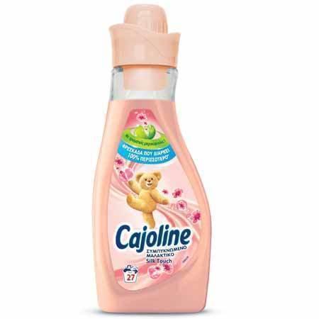Cajoline Sensations Silk Touch Συμπυκνωμένο Μαλακτικό, 750 ml / 27 μεζούρες