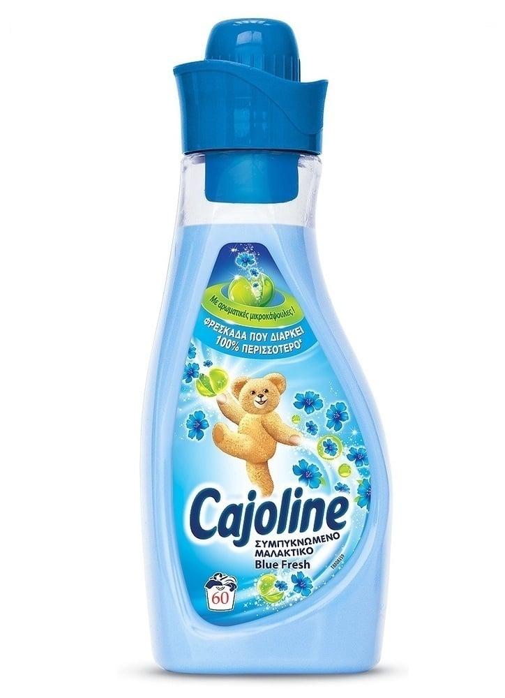 Cajoline Sensations Blue Fresh Συμπυκνωμένο Μαλακτικό, 1,5 lt / 60 μεζούρες