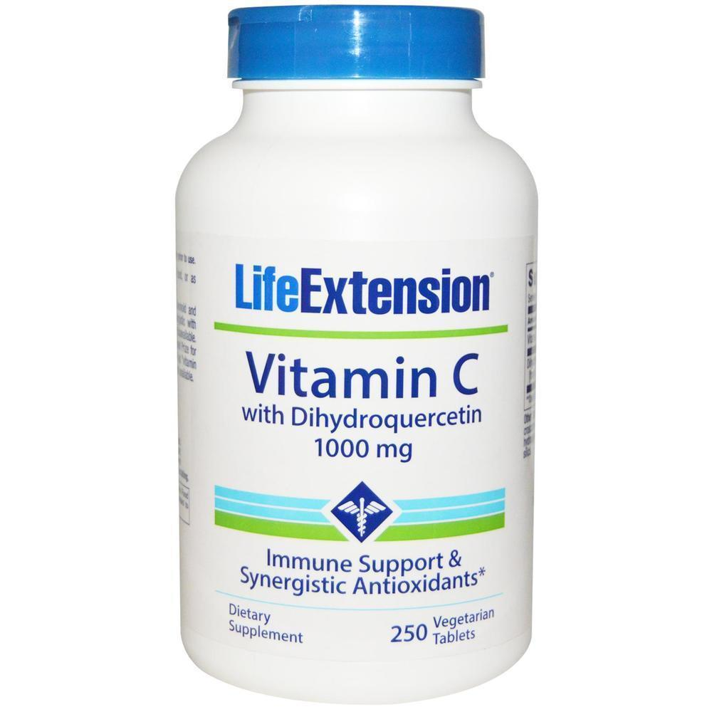 Life Extension Vitamin C With Dihydroquercetin 1000mg, 250 caps