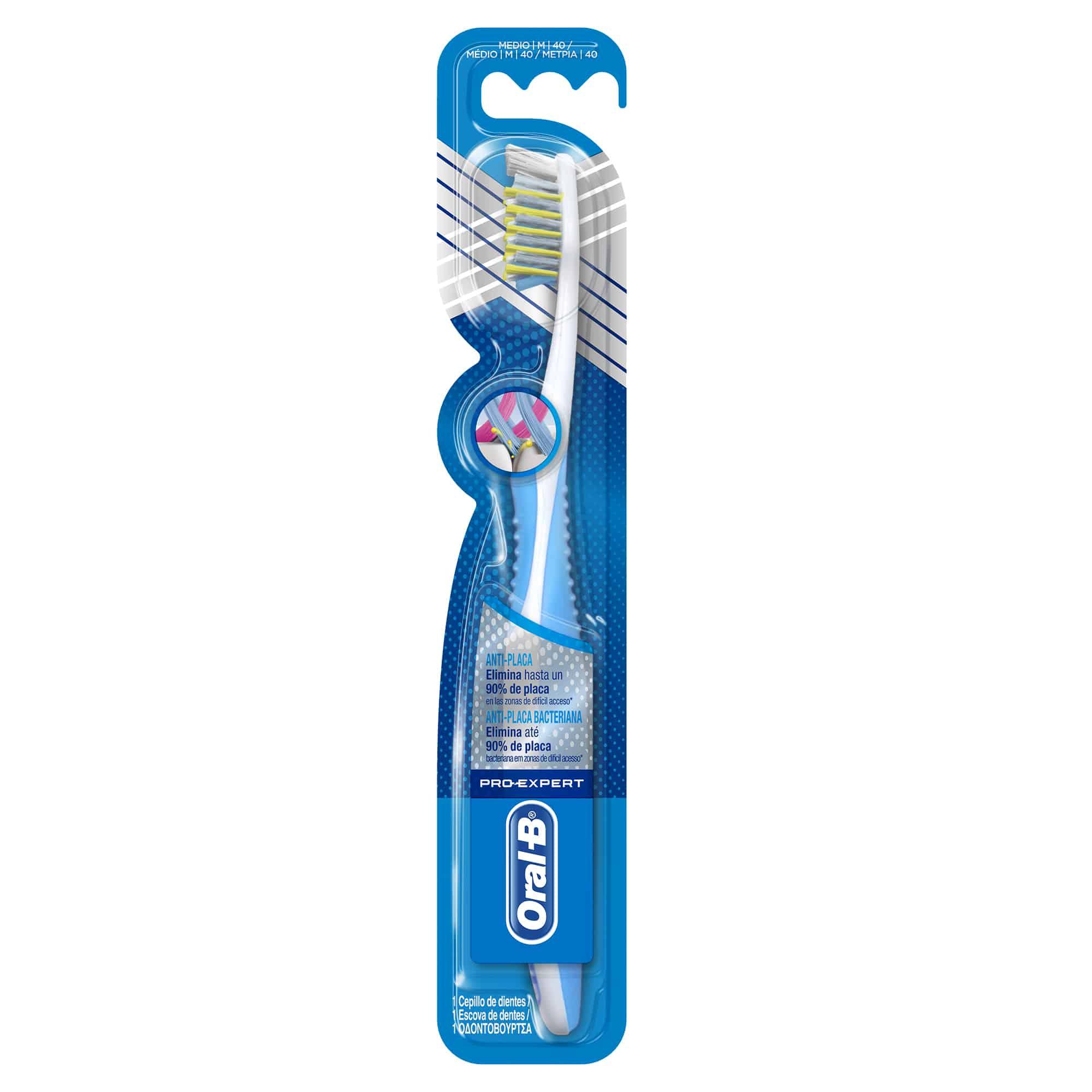 Oral-B Pro Expert Anti-Placa 40 Οδοντόβουρτσα  Medium, 1 τεμάχιο - Γκρι