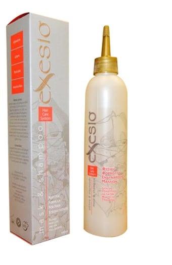 Exesio Φυσική Φόρμουλα Ενδυνάμωσης Μαλλιών κατά της Τριχόπτωσης, 280 ml