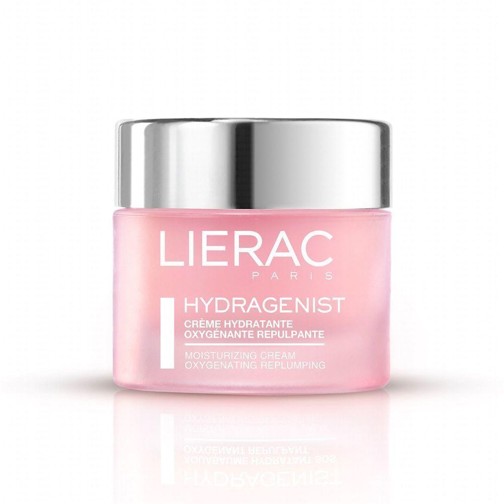 Lierac Hydragenist Creme, Ενυδατική Κρέμα Οξυγόνωσης & Επαναπύκνωσης, για Ξηρές Επιδερμίδες, 50 ml
