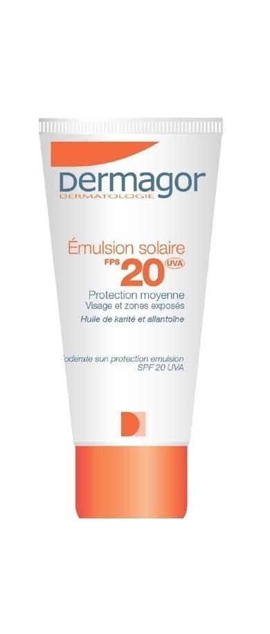 Inpa Dermagor Emulsion Solaire SPF20 Αντηλιακό Γαλάκτωμα για το Πρόσωπο, για Όλη την Οικογένεια, 40 ml
