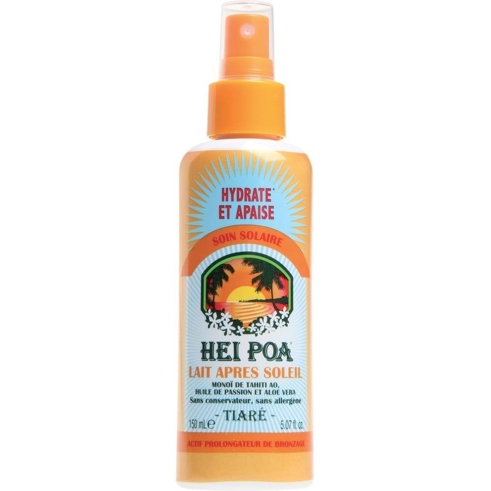 HEI POA Monoi After Sun Milk Tiare Spray Γαλάκτωμα Eμπλουτισμένο με Aloe Vera & Passion Oil για μετά τον Ήλιο, 150 ml