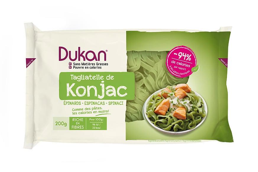 Dukan Expert, Konjac Ταλιατέλες Dukan με Σπανάκι, 200 gr