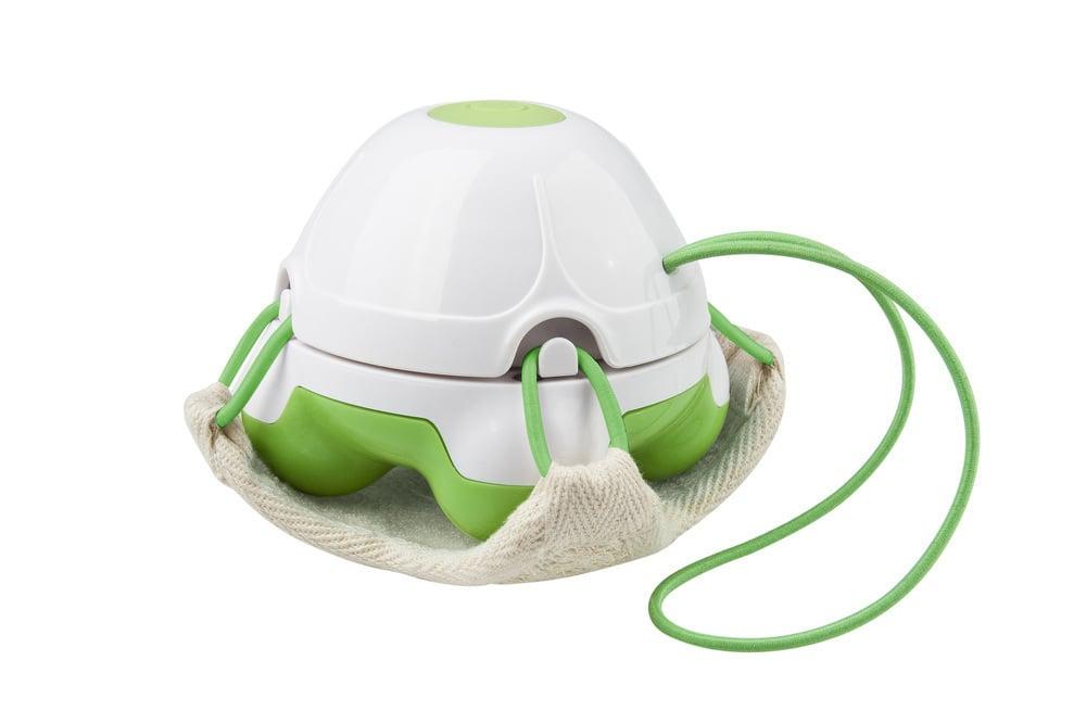 Medisana HM 840 Συσκευή Μασάζ με Λούφα για Χρήση στο Ντους, 1 τμχ - Πράσινο