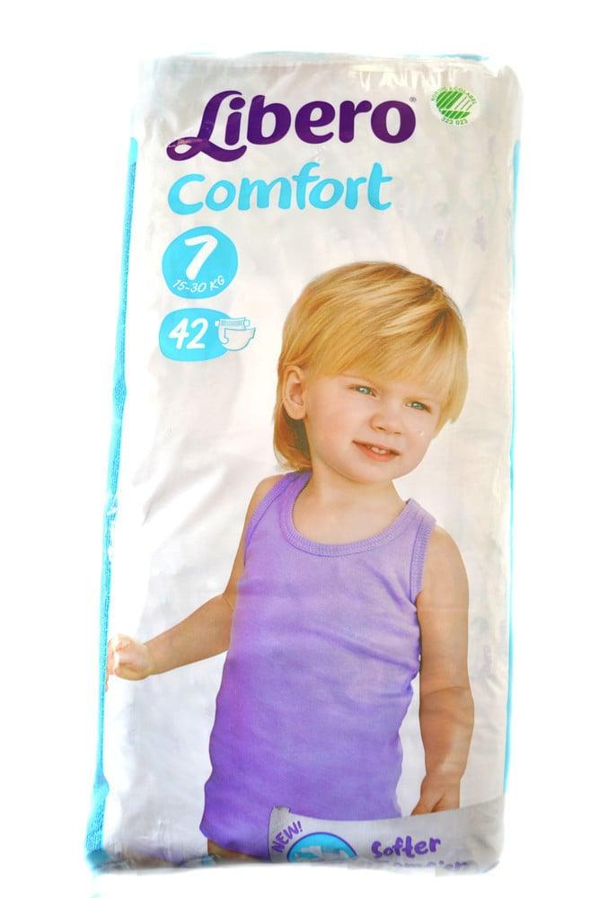Libero Comfort Πάνες Νο 7 (15-30 kg), 42 τμχ