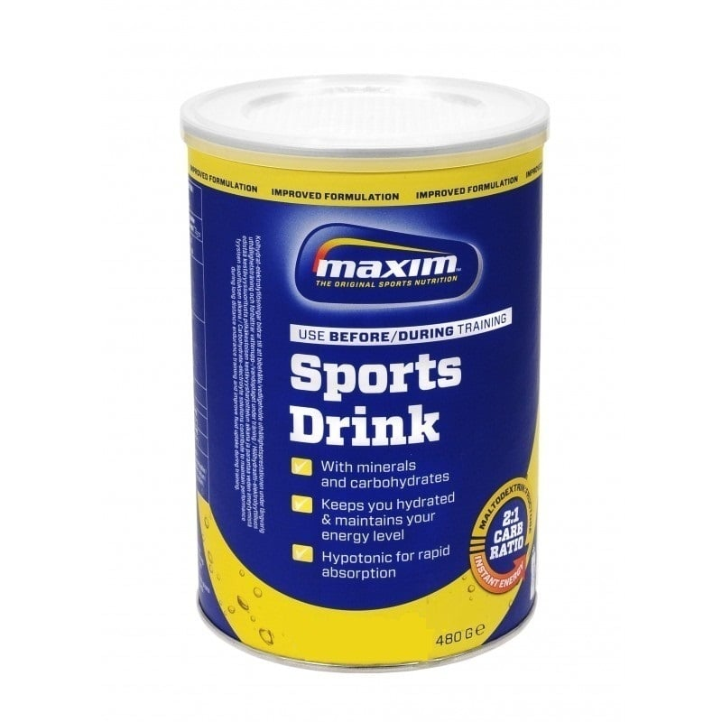 Maxim Hypotonic Sport Drink , Γεύση Orange & Lemon,480gr