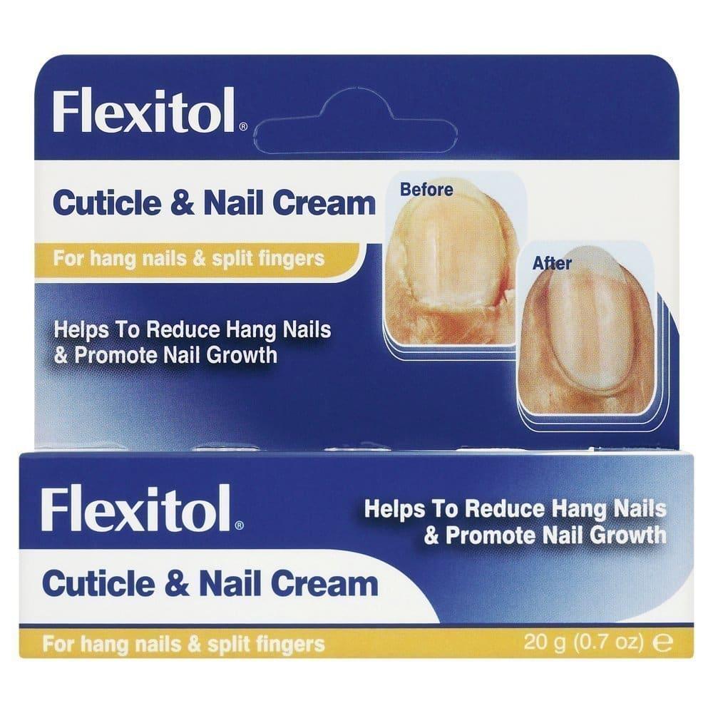 Flexitol Cuticle & Nail Cream Κρέμα για τα Πετσάκια & τα Νύχια, 20 gr