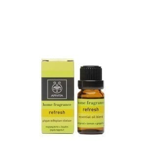 Apivita Essential Oil Refresh Μίγμα Αιθερίων Ελαίων με Περγαμόντο, Λεμόνι & Γκρειπφρούτ, 10ml