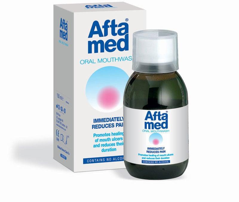 Curaprox Aftamed® Mouthwash Στοματικό Διάλυμα, 150 ml