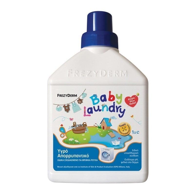 Frezyderm Baby Laundry Υγρό Απορρυπαντικό Ειδικά Σχεδιασμένο για Βρεφικά Ρούχα, 1 Lt