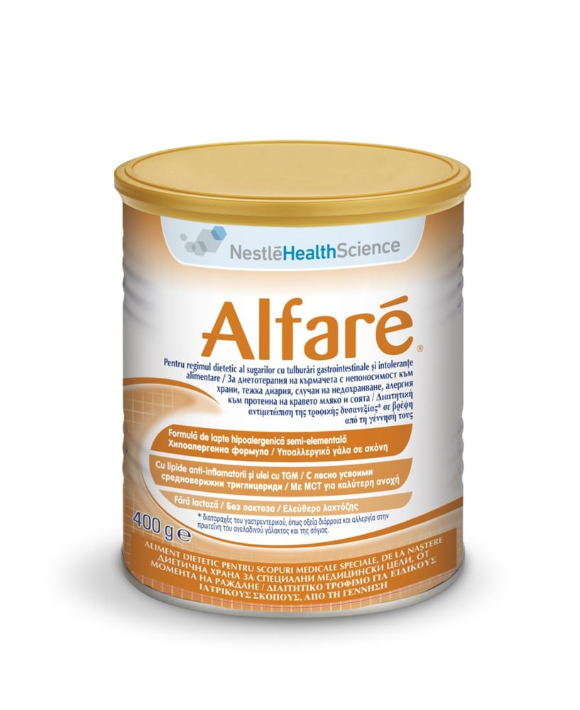 Mixture Alfare: composition, reviews. Baby milk formula Nestle Alfare 71