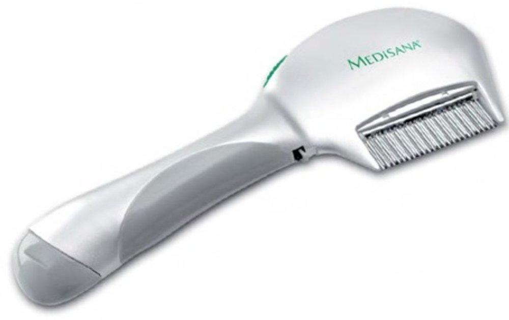 Medisana , Ηλεκτρική χτένα για ψείρες - LCS, Αντιμετωπίστε τις ψείρες άμεσα και αποτελεσματικά, Απλά χτενιστείτε και οι ψείρες σκοτώνονται αμέσως μόλις έρθουν σε επαφή με τα δόντια της χτένας