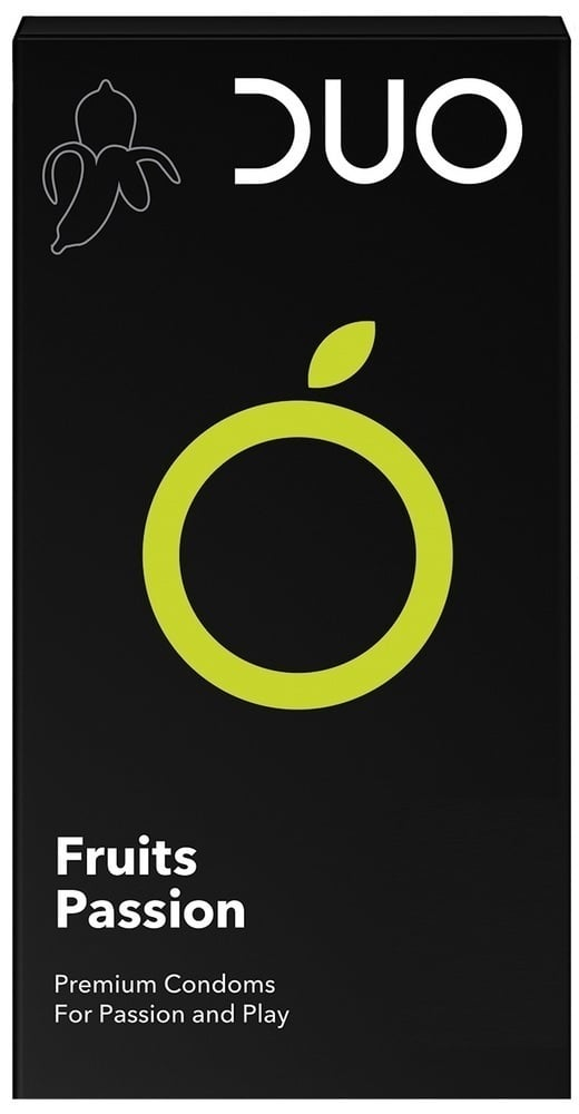 DUO Fruits Passion Προφυλακτικά με Γεύσεις, 6 τεμάχια