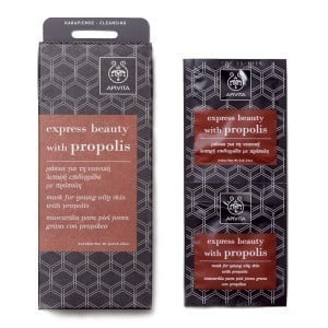 APIVITA Mask for Young Oily Skin with Propolis 2x8ml