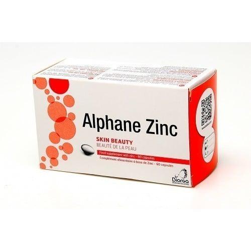 Biorga Alphane Zinc 30mg Συμπλήρωμα Ψευδάργυρου, 60 caps