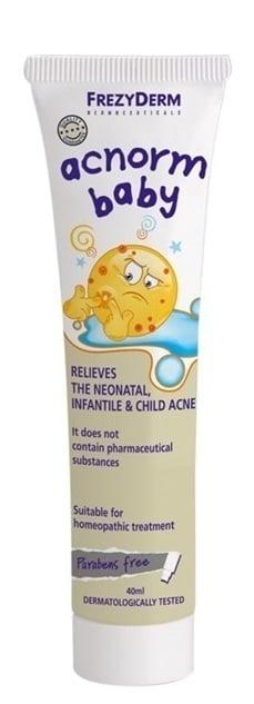 Frezyderm AC-Norm Baby Απαλή Κρέμα για τη Νεογνική, Βρεφική & Παιδική Ακμή, 40 ml