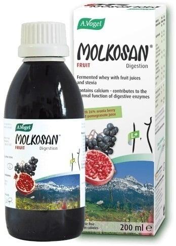 A. Vogel MOLKOSAN Fruit Πρεβιοτικό Σκεύασμα με Γεύση Φρούτων για Καθημερινή Χρήση, 200ml