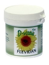 Metapharm D-Vital Flevidan Συμπλήρωμα Διατροφής για την Καλή Υγεία του Φλεβικού Συστήματος, 30 caps