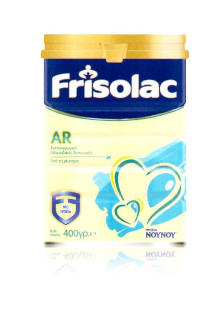 Frisolac AR Βρεφικό Γάλα Ειδικής Διατροφής από τη Γέννηση έως το 12ο μήνα, για την Αντιμετώπιση των Αναγωγών, 400 gr