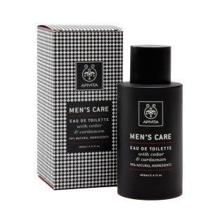 APIVITA MEN'S CARE Eau de Toilette with Cedar & Cardamom,100ml