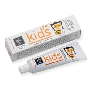 Apivita Natural Dental Care Kids 2+ Παιδική Οδοντόκρεμα με Ρόδι & Πρόπολη & Ευχάριστη Γεύση Φρούτων, 50ml
