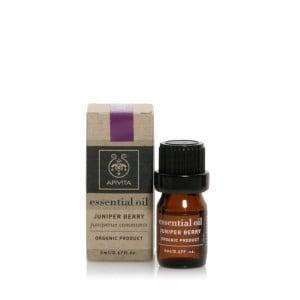 Apivita Essential Oil Juniper Αιθέριο Έλαιο Αγριοκυπάρισσο, 5ml