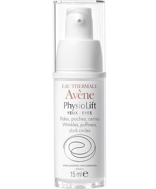 Avene Eau Thermale Physiolift Κρέμα Ματιών για την Αντιμετώπιση των Εγκατεστημένων Ρυτίδων, των Μαύρων Κύκλων & των Σακουλών, 15 ml