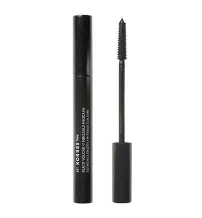 Korres Black Volcanic Minerals Professional Length Mascara No 01 Black, 7.5 ml