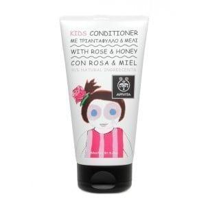 APIVITA Kids Conditioner με Τριαντάφυλλο & Μέλι, 150ml
