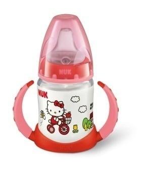 Nuk First Choice Hello Kitty Μπιμπερό Εκπαίδευσης με Δύο Λαβές & Μαλακό Ρύγχος Σιλικόνης, από 6 μηνών, 150ml