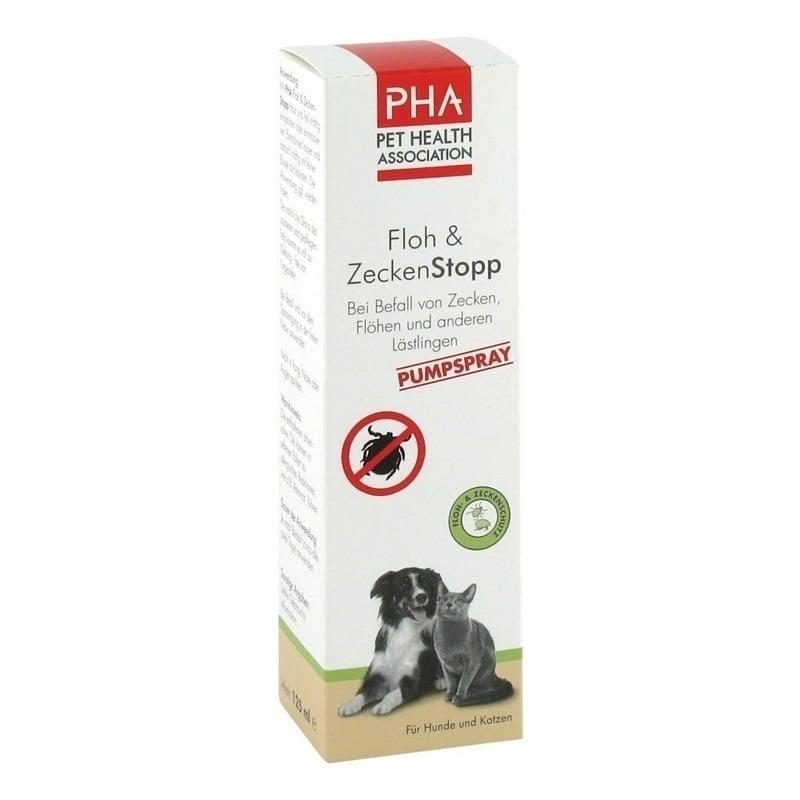 PHA Spray Αντιπαρασιτικό Σπρέι Κατά των Ψύλλων & των Τσιμπουριών, 125ml