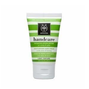 Apivita Moisturizing Handcare Cream Ενυδατική κρέμα χεριών με Αλόη & Μέλι,50ml