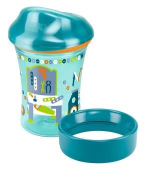 Nuk Easy Learning Vario Cup Ποτηράκι με Χείλος Ποτηριού, από τον 12 μήνα, 250ml