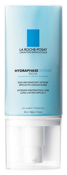 La Roche Posay Hydraphase Intense Riche Κρέμα Φροντίδας για Εντατική Ενυδάτωση της Επιδερμίδας, για το Αφυδατωμένο, Ξηρό έως πολύ Ξηρό & Ευαίσθητο Δέρμα, 50 ml