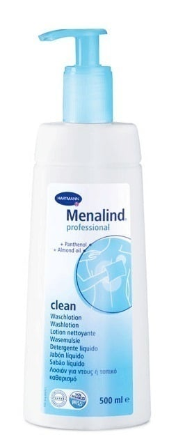 Hartmann Menalind Professional Protect Clean Lotion Λοσιόν Καθαρισμού για το Ντους για την Ώριμη Επιδερμίδα (995014), 500ml
