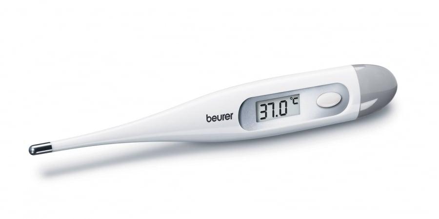 Beurer FT 09 White Αδιάβροχο Ψηφιακό Θερμόμετρο Εύκαμπτο, 1 τεμάχιο