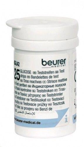 Beurer TS42 Ταινίες Μέτρησης Σακχάρου για το Μετρητή GL 42 , 50 τεμάχια