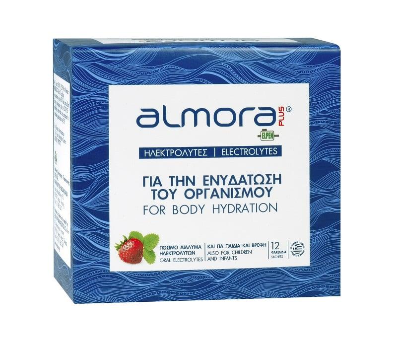 Almora Plus Ηλεκτρολύτες για την Ενυδάτωση του Οργανισμού, 12 φακ.