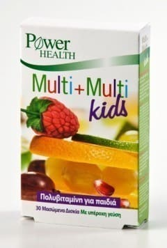 Power Health Multi+Multi Kids, 30 chweable tabs