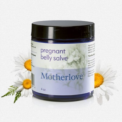 Motherlove Pregnant Belly Salve Πλούσια Κρέμα για την Πρόληψη των Ραγάδων, 120ml