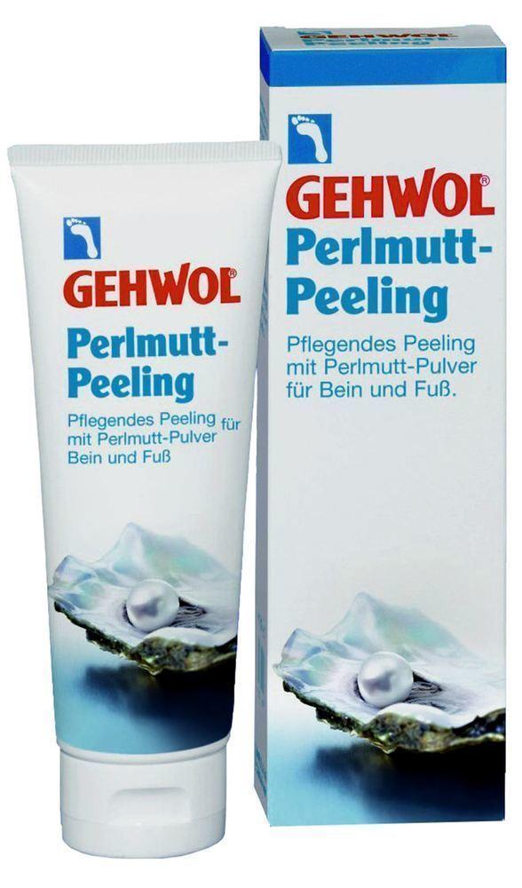 Gehwol Mother of Pearl Scrub Απολεπιστική Πάστα για Γάμπες & Πέλματα, 125ml