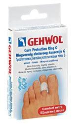 Gehwol Corn Protection Ring G Προστατευτικός Δακτύλιος Πολυμερούς Γέλης για Κάλους, 3 τεμάχια