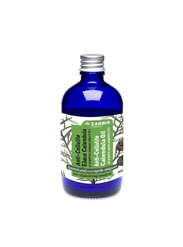 CAMOIL Johnz Anti-Cellulite, Έλαιο Calendula (Καλέντουλας), 100 ml Καταπολεμά κυτταρίτιδα & χαλάρωση, επιταχύνοντας τον μεταβολισμό