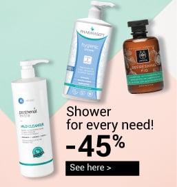 shower gels ofarmakopoiosmou