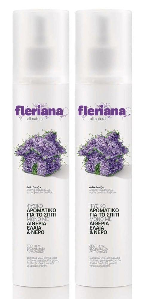 2 x Power Health Fleriana φυσικό Αρωματικό Χώρου, Άνθη της Άνοιξης, 2 x 250ml
