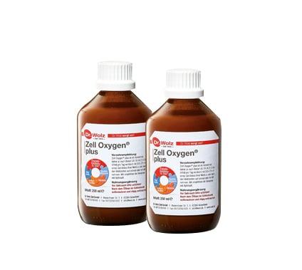 2 x Power Health Zell Oxygen Plus Πολυβιταμινούχο Συμπλήρωμα για Ενίσχυση Μνήμης & στήριξη του οργανισμού μετά από ασθένεια, 2 x 250ml