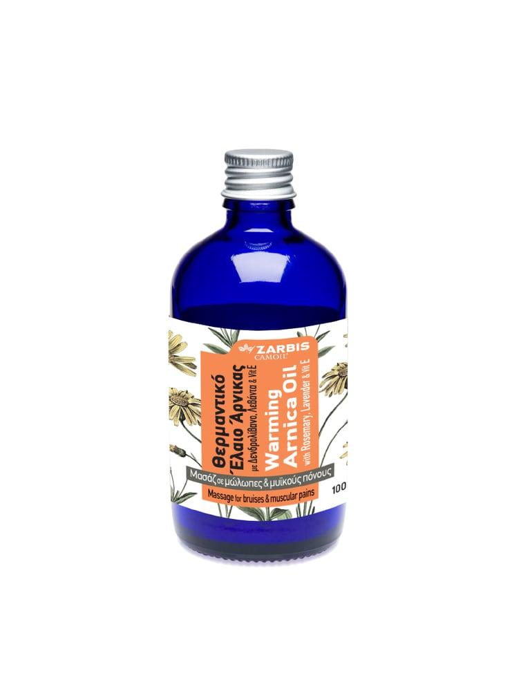 CAMOIL Johnz Έλαιο Άρνικας με δενδρολίβανο, λεβάντα & βιταμίνη Ε, 100ml